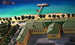 Исторический макет Императорского фарфорового завода IXX век
