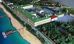 Исторический макет Императорского фарфорового завода_1