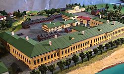 Исторический макет Императорского фарфорового завода_8